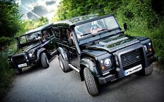 Hardcore off-road credibility meets well-appointed luxury in the Vilner Land Rover Defender.