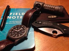 """Fisher Bullet X-Mark space pen Field Notes """"cold horizon""""..."""