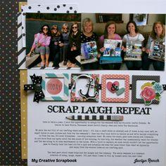 Scrap.Laugh.Repeat - Scrapbook.com