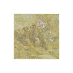 #Quinces #Lemons #Pears #Grapes by Van Gogh #VanGogh #Stone #Magnet