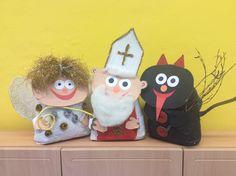 Merry And Bright, Advent, Devil, Snowman, Kindergarten, Christmas Ornaments, Holiday Decor, Disney Characters, Kindergartens