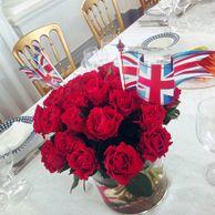 Diamond Jubilee lunch in St Petersburg, Russia