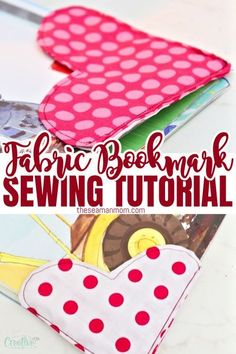 Looking for fabric bookmark ideas? Sewing bookmarks has never been more enjoyable with these fabric bookmarks! Make your own cute bookmarks for personal use or make a cute heart bookmark as a… More