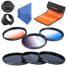 ND2 ND4 ND8 77mm K&F Concept® ND2 ND4 ND8 77,ND Filterset 77mm,Graufilter Set 77mm,Slim ND Filter,Objektiv Filterset 77mm ,Objektiv Filter 77mm,Neutrale Graufilter ND2 ND4 ND8,ND Filter 77mm,Verlaufsfilter Set,Verlaufsfilter Grau,Verlaufsfilter Orange,Verlaufsfilter Blau 6 Stücke mit Sonnenblende Objektiv Deckel Reinigungstuch und Filtertasche - http://kameras-kaufen.de/k-f-concept/77mm-k-f-concept-52mm-10-teiliges-slim-objektiv-3er