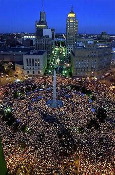 Candlelight Memorial Service for the victims of 9/11 ~ Buffalo, New York