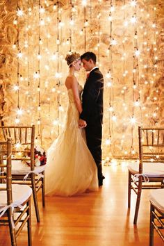 swoon worthy wedding lights ideas