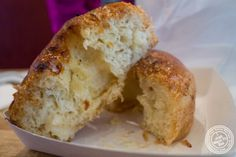 image of creme brûlée Dough'Ssant at Chikalicious Dessert Club in the East Village