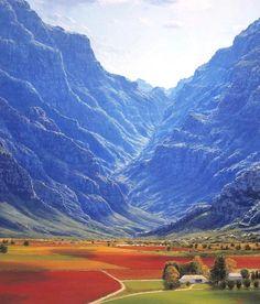 Die poort na die Kaap …. en elke keer as hierdie panorama voor my oopvou, is dit asemintrekkend MOOI!!!!  South Africa Places to Visit  An eisen Blog vill méi Informatiounen  https://storelatina.com/southafrica/travelling #africadelsur #SouthAfrica #Africadosul