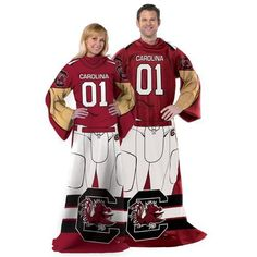 The Northwest Company University of South Carolina Uniform Comfy Throw (, Size ) - NCAA Licensed Product, NCAA Novelty at Academy Sports
