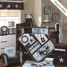 Rock'n'roll baby bedroom