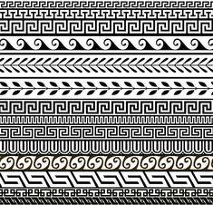 Greek Floral Pattern Greek Ornament Pattern