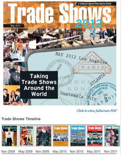 How about a Trade? Show of hands, who's Special enough for this Section. To reiterate, the #ApparelNews Trade Shows 2012 special section. (http://bit.ly/6cL6C3) #Shop #Dine #California #Atlanta #SF #Dallas #NYC #LA #Miami