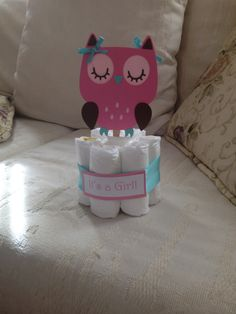 Owl Baby Shower Centerpiece, she can take them home