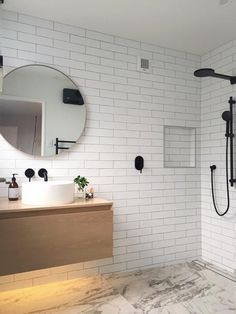 Replacing chrome bathroom fixtures such as taps and showers with black designs is a trend we're starting to see take off. Ideal if you want to create an ultra-modern designer look.