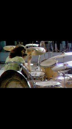 Rock Rock, Hard Rock, Drum Drawing, Ludwig Drums, Robert Plant Led Zeppelin, Houses Of The Holy, Hampton Beach, Best Rock Bands, Metal Drum