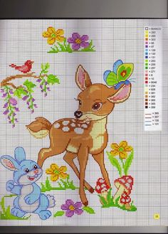 "ru / tymannost - Альбом ""I lavori femminili di Mani di fata: Copertine a punto croce"" Cross Stitch Art, Cross Stitch Animals, Cross Stitch Flowers, Cross Stitch Designs, Cross Stitching, Cross Stitch Embroidery, Cross Stitch Patterns, Disney Stitch, Baby Embroidery"