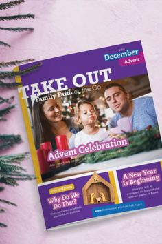 Take Out December 2019 Catholic Kids, Take Out, Summary, Advent, Reflection, Globe, Prayers, December, Faith