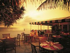HB's on the Gulf is Naples only beachfront restaurant.