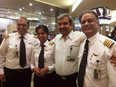 Indian Aviation NEWS: Thanks Capt Gautam Verma Commander Capt Niranjan S...