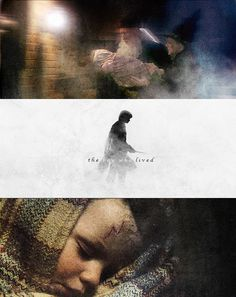 Harry Potter, the boy who lived.