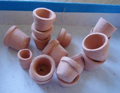 how to: clay pots