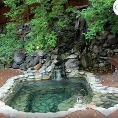 Swimming Pools Backyard, Ponds Backyard, Backyard Patio, Backyard Landscaping, Natural Swimming Ponds, Natural Pond, Small Pool Design, Dream Pools, Cool Pools