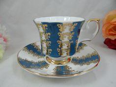 1960s Vintage Elizabethan English Bone China English Teacup and Saucer