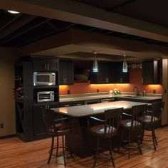 Decorating Ideas for Homes with Low Ceilings Ceilings Basements