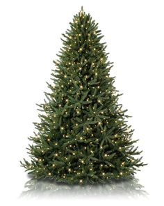 Bursting with beauty and realism, this Oh Christmas Tree looks just as awe-inspiring unlit as it does with clear or multicolor lights.