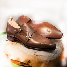 New double monk strap on the new buger last