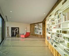 furniture Crossed House by Clavel Arquitectos