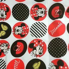 Veja nosso novo produto Tecido Minnie - importado pelo Ateliê Balaio de Gatos! Se gostar, pode nos ajudar pinando-o em algum de seus painéis :)