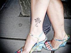 Small Lotus Tattoo