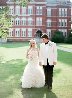 Auburn University Wedding Al Lark By Vera Cathedral Veil