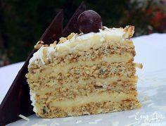 Ореховый торт с кремом Патисьер   Кулинарные рецепты от «Едим дома!»