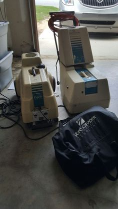 Von Schrader Commercial Carpet Cleaning Equipment