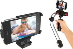 I need this! The SteadyCam Smoothee for filming with my iPhone!  Add this tech gadget to my collection asap!  Check out one of the films I shot w/ my iPhone here!  https://www.youtube.com/watch?v=6GPKpTGKwDc  12 Best iPhone Photography Accessories: Lenses, Stands, Filters & More