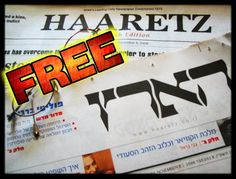 FREE Ha'aretz ■■CRACKED■■ FREE NEWS ARTICLES■ The world's leading English-language Website for real-time news & analysis of Israel & the Middle East ■Israel's oldest daily newspaper EST. 1918 #FreePalestine