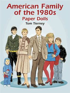 A variety of clothing styles for a multi-generational family. 10 dolls are…