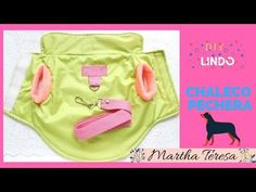 COMO HACER-CHALECO PECHERA PARA CHIHUAHUA -DIY - YouTube Diy Camisa, Video X, Dog Clothes Patterns, Lunch Box, Puppies, Youtube, Fabric, Dogs, Jacket