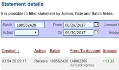 My #87 Withdrawal Proof of online income from Ad Click Xpress.Ad Click Xpress is the top choice for passive income seekers.I get paid daily and I can withdraw daily. Online income is possible with ACX, who is definitely paying – no scam here.Join for FREE and get 10$ Tripler pack from ACX to get you started earning 3% per day.JOIN ME AND LET'S MAKE MONEY TOGETHER!!!You wonder why?The answer is simple!Because AdClickXpress is the best online opportunity!The withdrawal of money is every day!