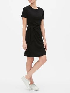 Side-Tie Shirtdress | Gap Factory