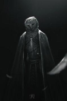 ArtStation - Owl Knight, Igor Krstic