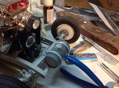Réservoir nitrous oxyde du hotrod Ford 32
