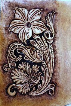 #sheridanfloral #leatherart