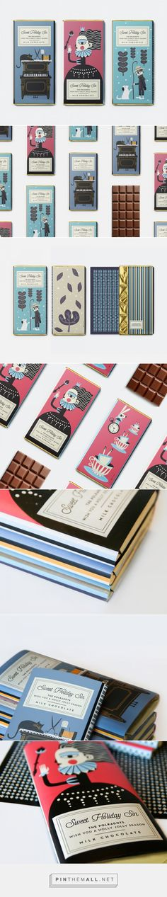 Check Out the Whimsical Illustrations For This Holiday Chocolate Packaging — The Dieline | Packaging & Branding Design & Innovation News - created via https://pinthemall.net
