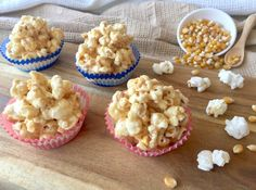 These Salted Caramel Popcorn Cups are perfect for a birthday party, movie night, or just anytime you feel like something sweet and salty.