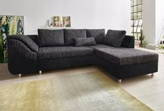 Couch L form - algsearch Big Couch, Big Sofas, Couches, Chesterfield Sofas, Sofa Design, Xxl Sofa, Corner Sofa, Sofa Bed, Decorating Tips