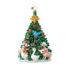 PREORDER - Farm Fresh Christmas Tree Ornament by Christopher Radko (Ships February) $66.00