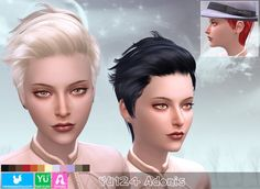 YU124 Adonis hair (PAY) at Newsea Sims 4 via Sims 4 Updates  Check more at http://sims4updates.net/hairstyles/yu124-adonis-hair-pay-at-newsea-sims-4-2/